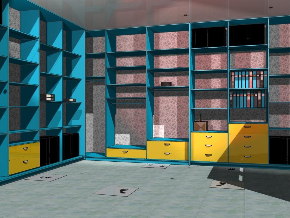 фото дизайна гардеробной комнаты