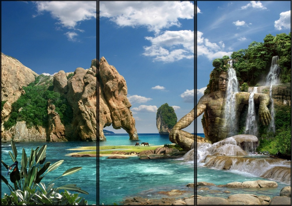 Дизайн дверей-купе фото-пример