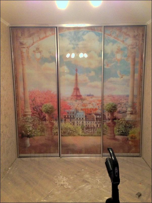 Шкаф-купе с фото-печатью фото