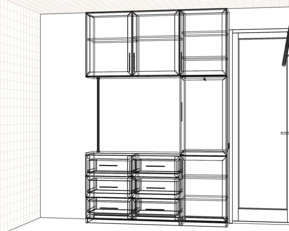Дизайн проект мебели в спальню