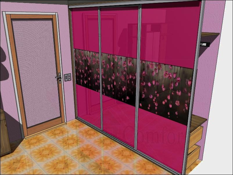 Замена дверей встроенного шкафа-купе
