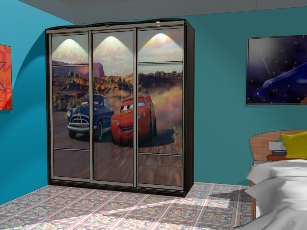 Шкаф-купе в детской комнате интерьер дома