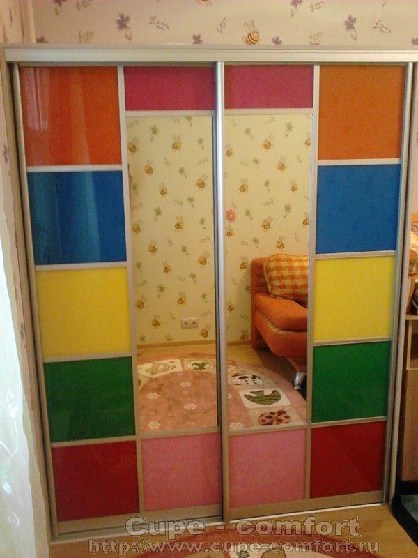 Шкаф купе детский фото - главная идея.