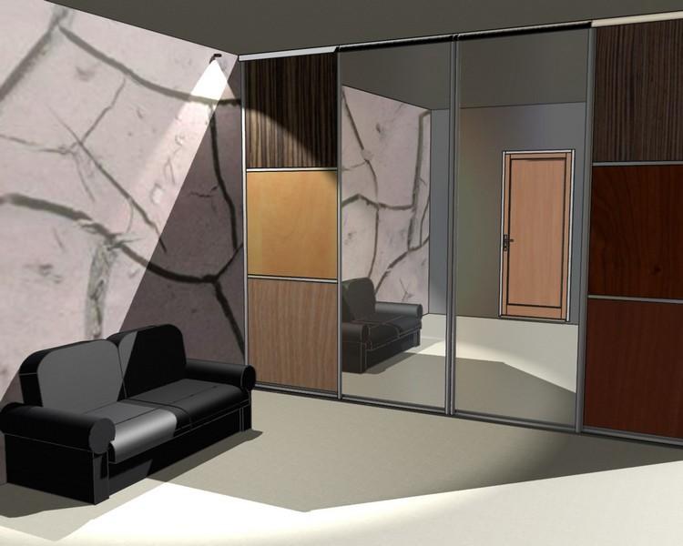 Шкаф-купе в коридор дизайн