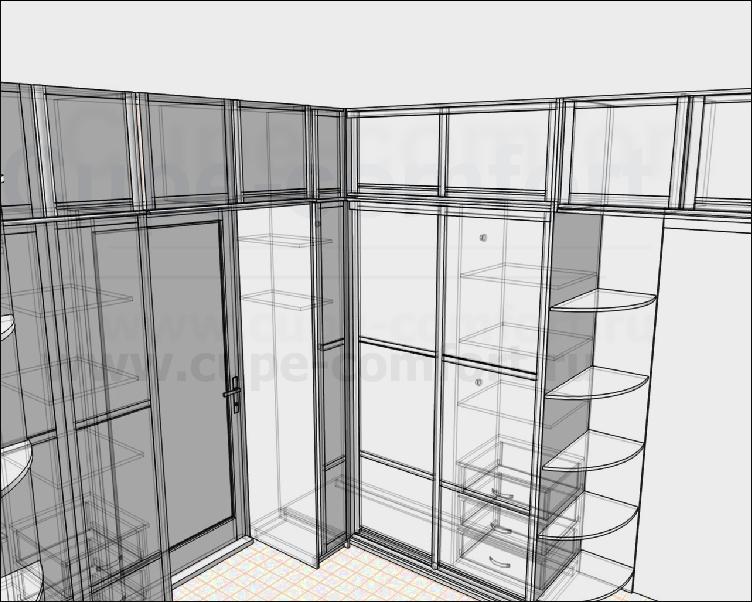 Дизайни проектирование мебели