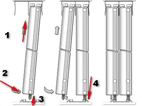 Установка дверей купе своими руками фото инструкция