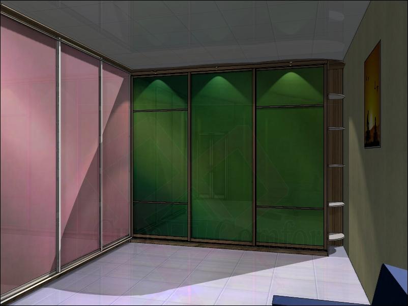 Подбор дверей-купе и рисунка для них