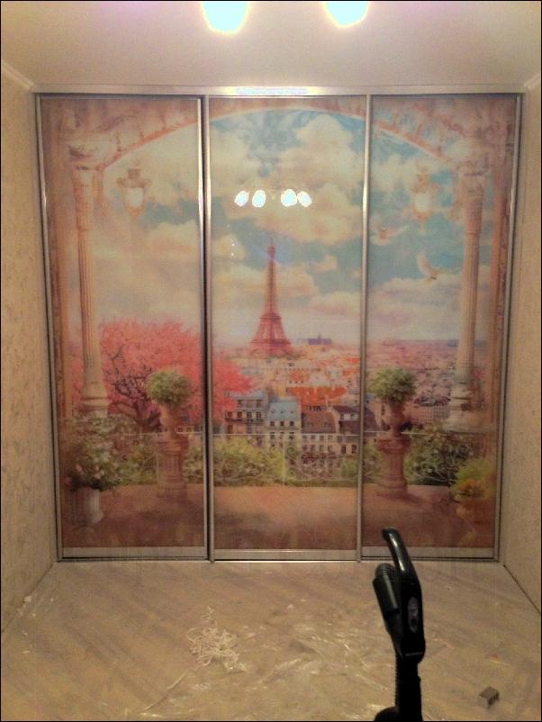 Двери купе в гардеробной для прихожей фото