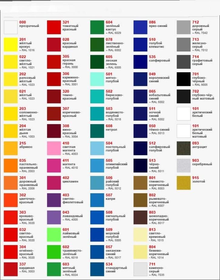 Цветное стекло палитра цветов фото