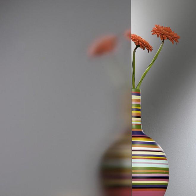 Матовое стекло свето-пропускаемость в шкафу и видимость предметов за ним