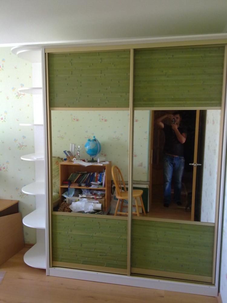фото двери-купе для шкафов зеркальные