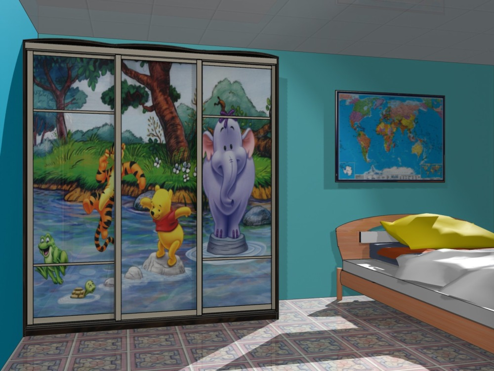 Шкаф-купе для детской комнаты в Бутово, цены фото