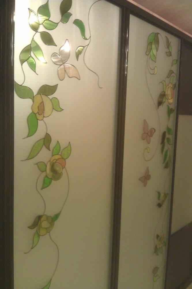 Витражный рисунок для шкафов-купе