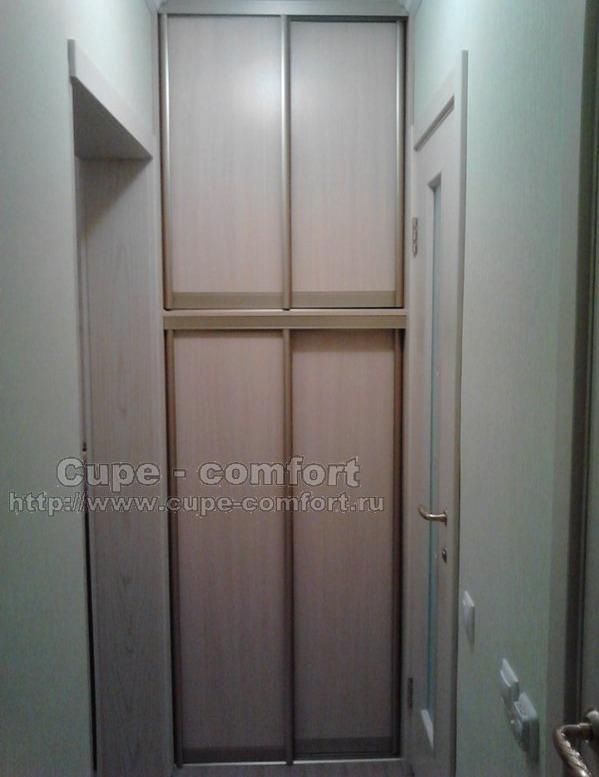 Шкаф-купе в маленький коридор
