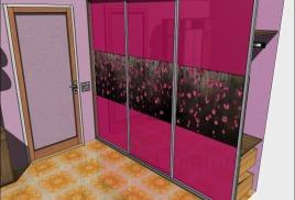 Шкафы в нише - Встроенные шкафы-купе в нишу,фото и цены
