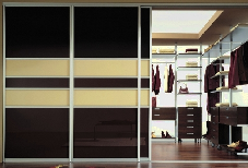 двери для гардеробного шкафа-купе
