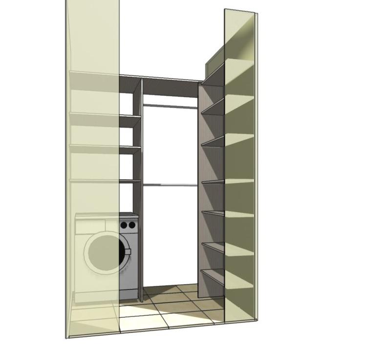 дизайн гардеробных, шкафов-купе