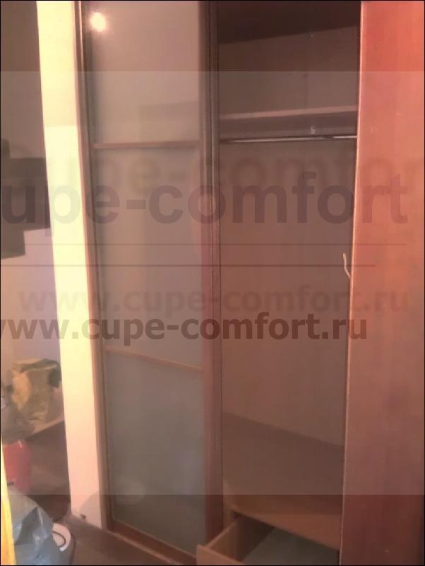 Стекло матовое в шкафу купе на дверях фото